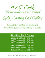Cards - 4x8 Options